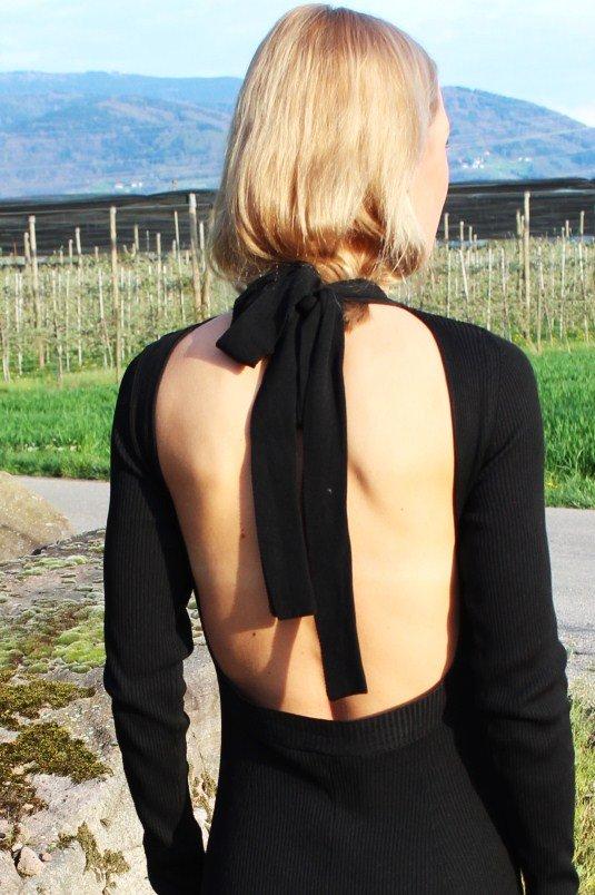 Kleid mit Schleife Zara