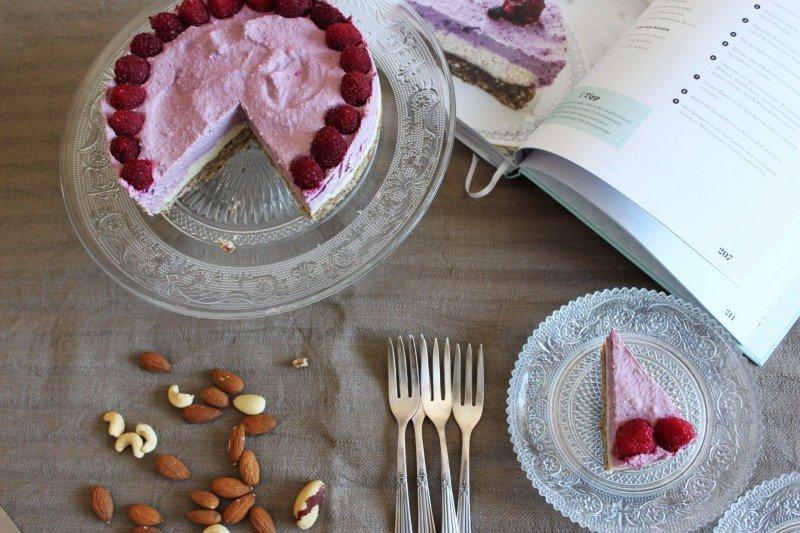 Cheesecake aus dem Buch Vegan kann jeder