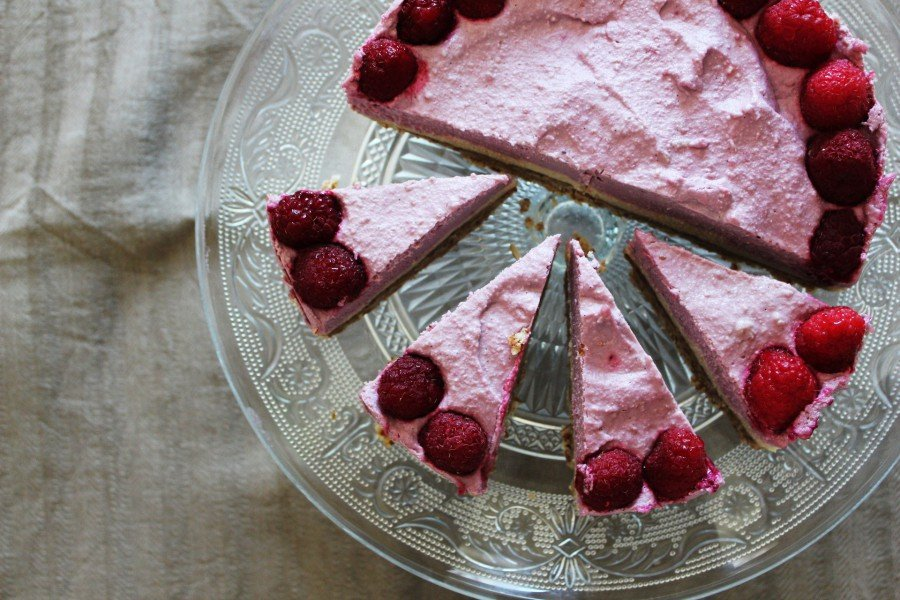 Berry Cheesecake Vegan