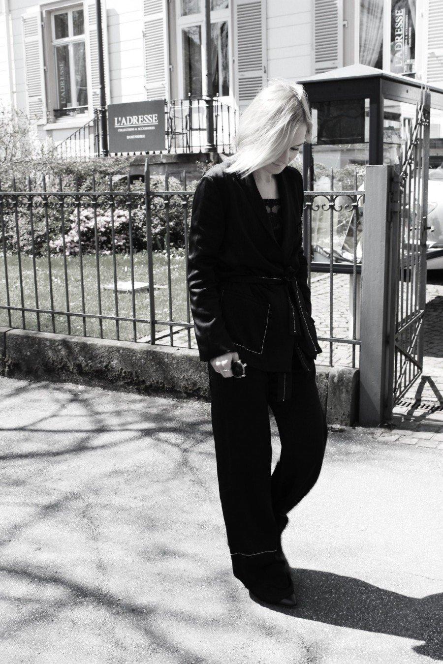 Pyjama schwarz zara