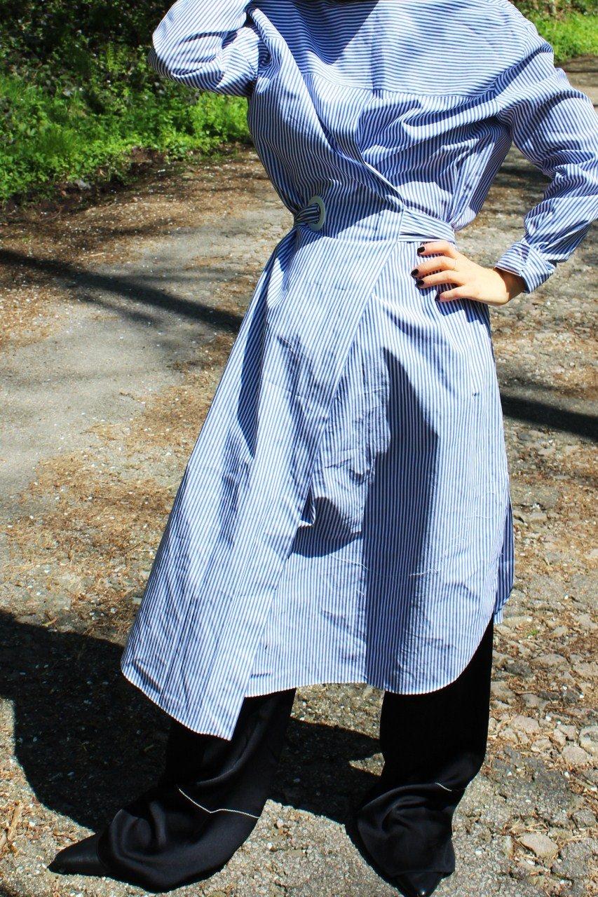 langes Kleid Zara blogger