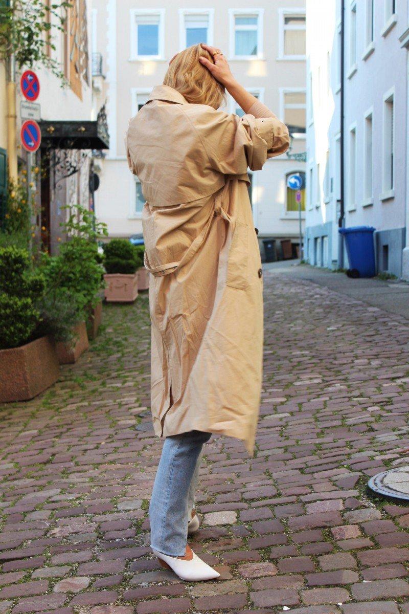 Trenchcoat Blogger beige