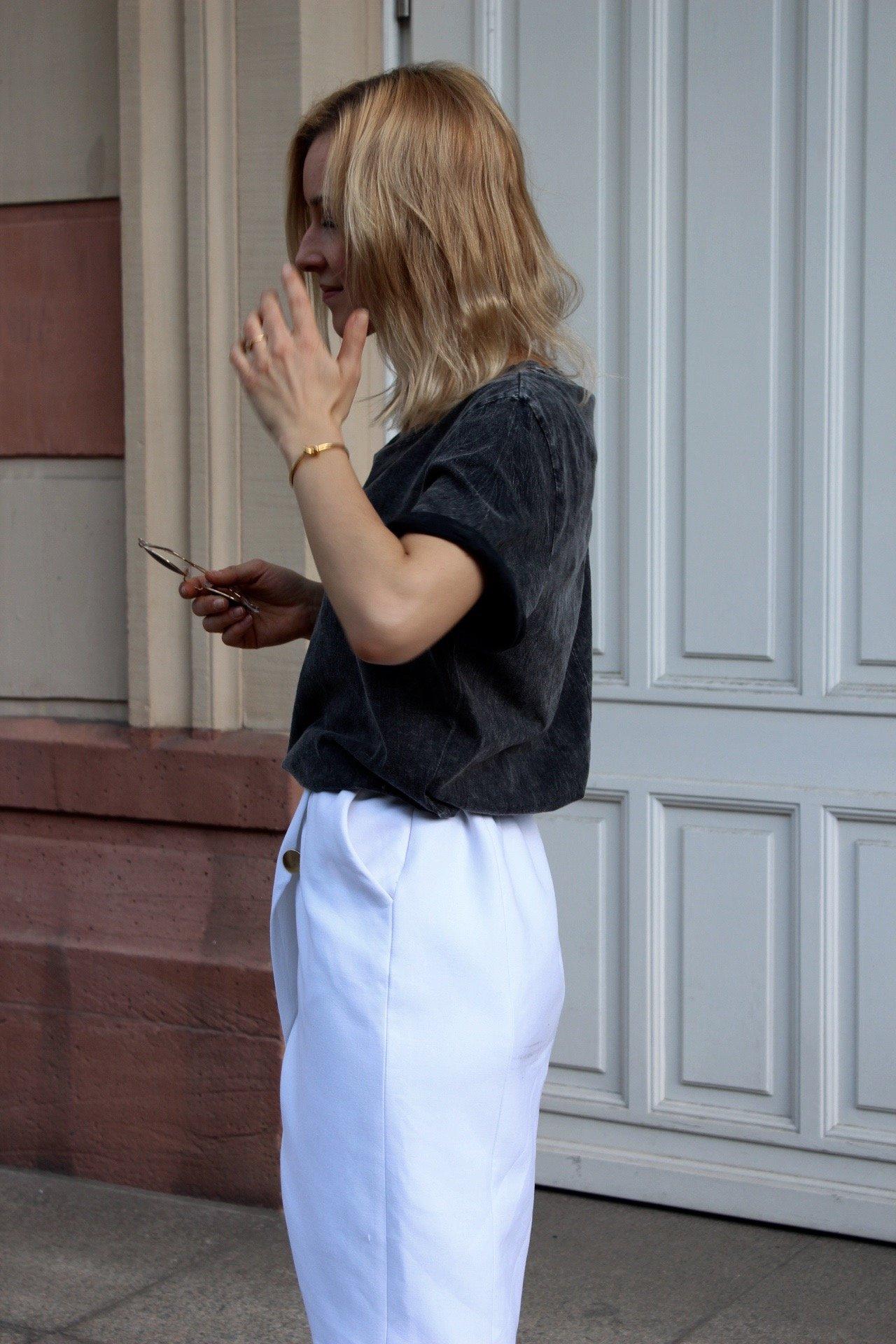 weißer Rock Zara