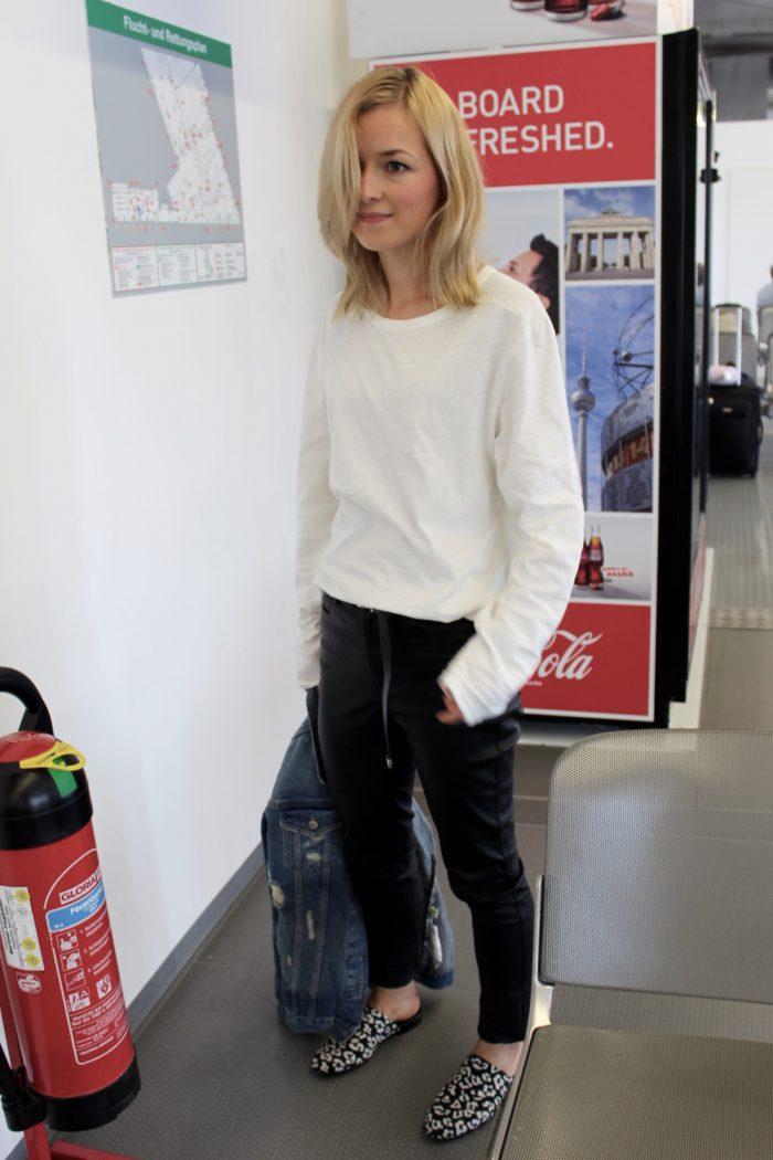 weißer Vintage Sweater