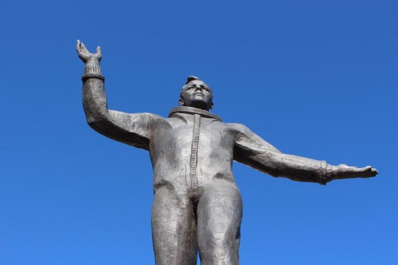 Gagarin in Izhevsk