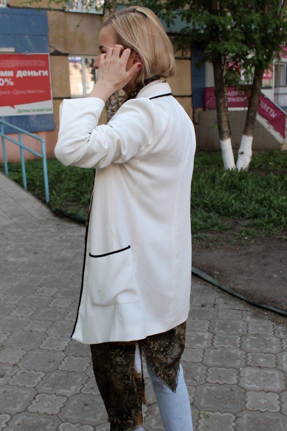 white blazer stylen