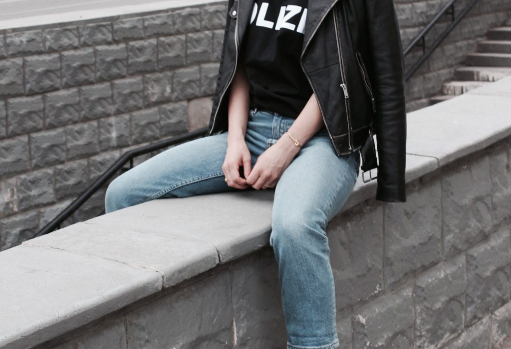 FashionBlogger Polizei Shirt