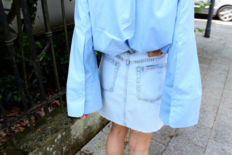 Jeans Rock kombinieren