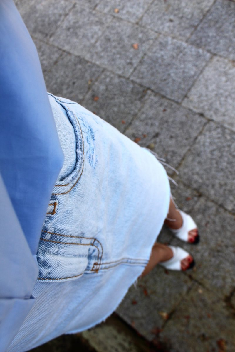 Jeans Rock fashionblogger