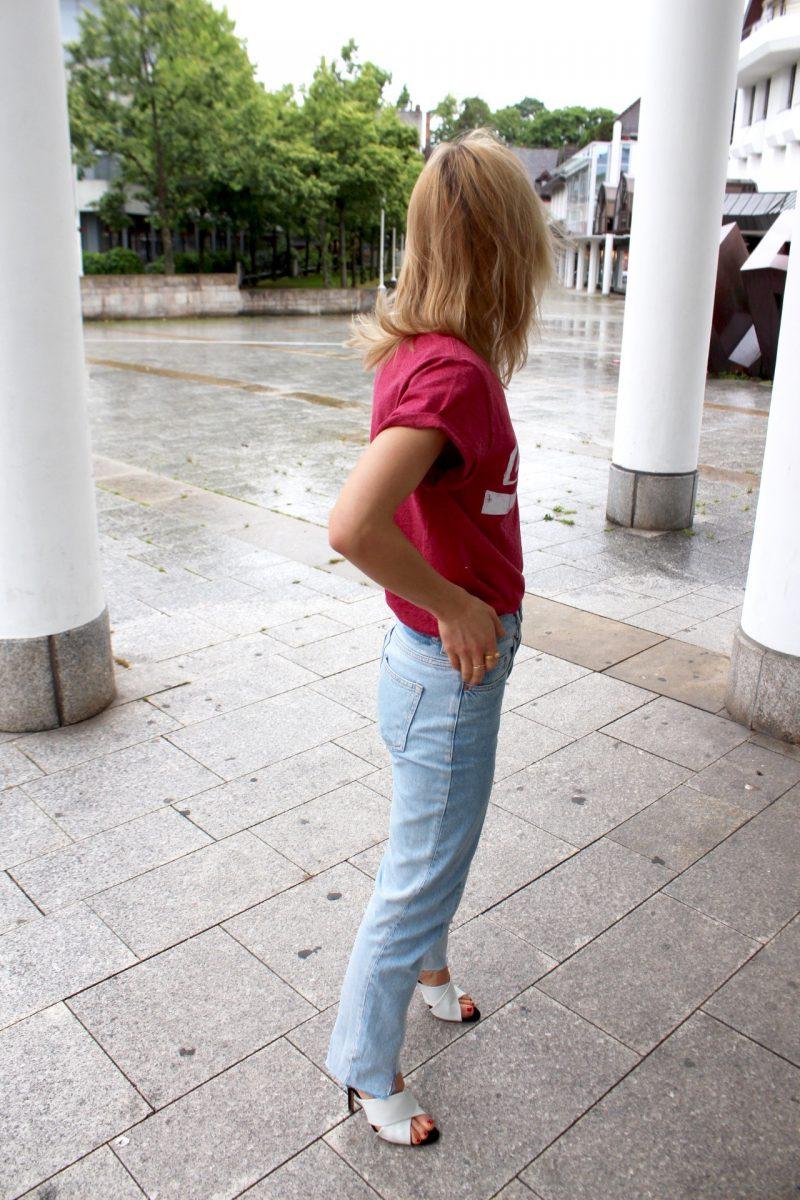Miroslava Duma Shirt rosa Coca Cola