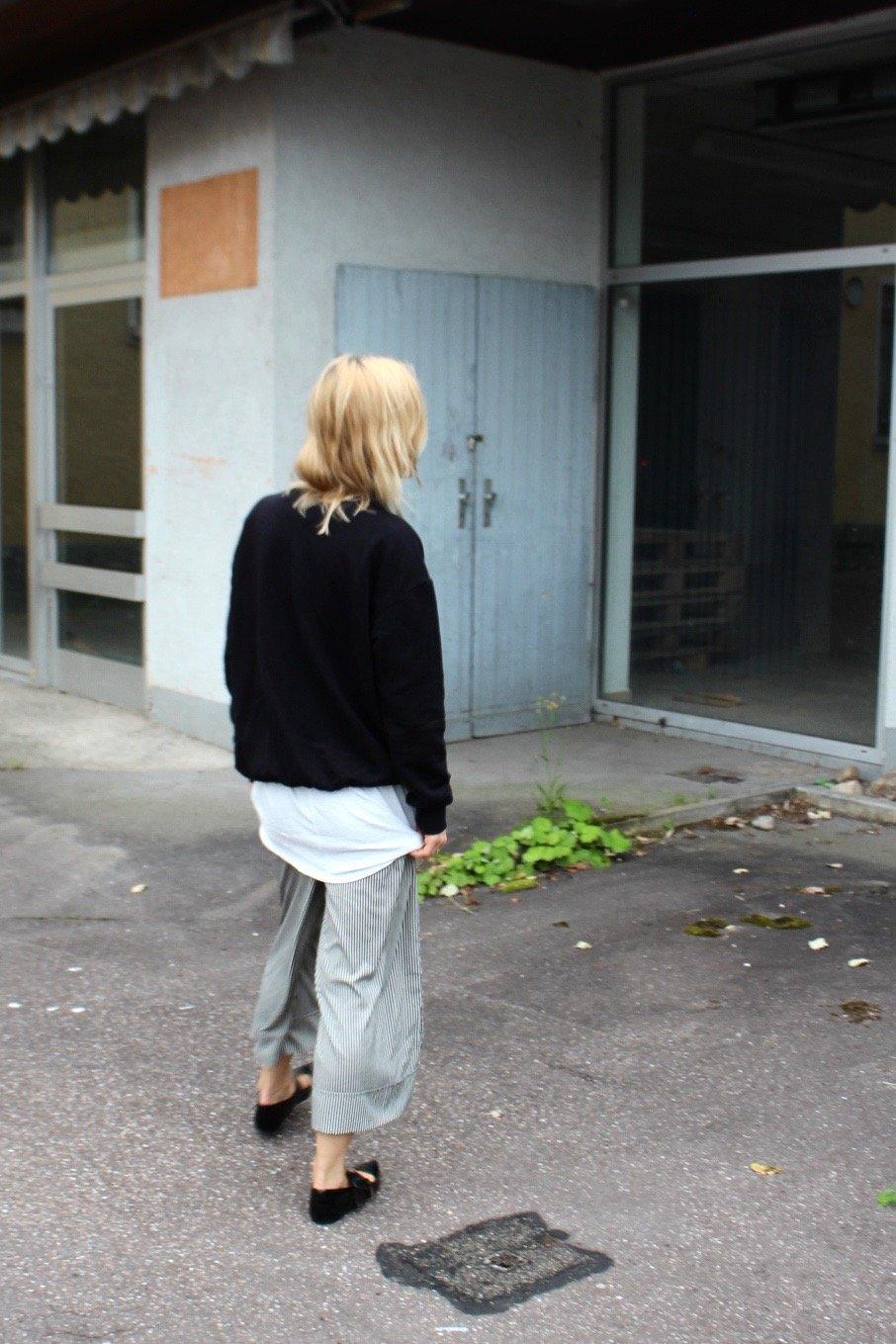 gestrefte Culotte Zara