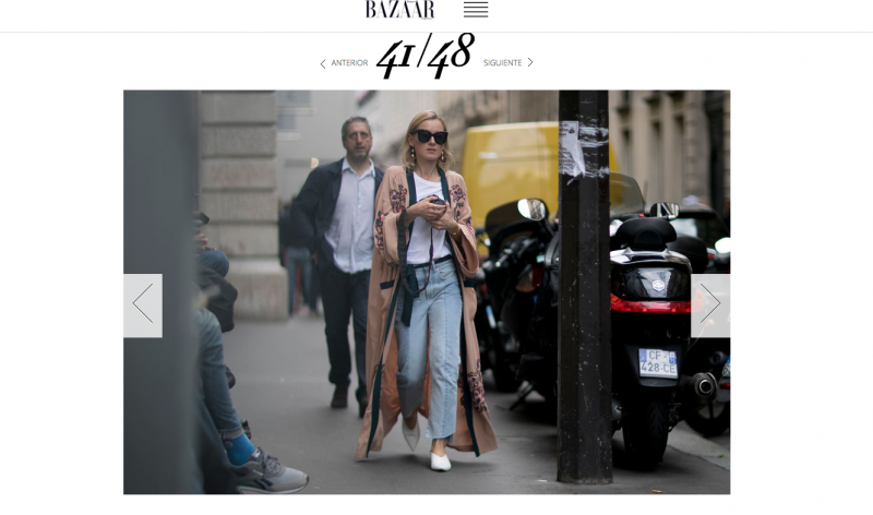 Streetstyle Harpers Bazaar Haute Couture Fashion Week
