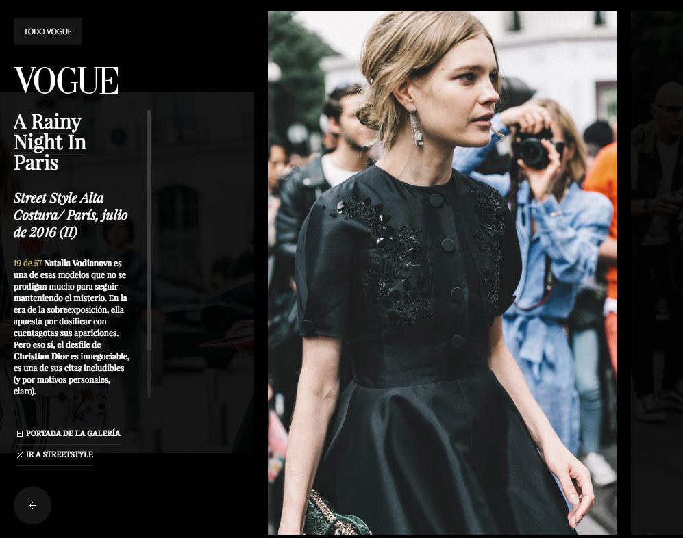 Streetstyle Fashion Week Paris Vogue Spain