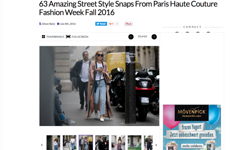 The Fashion Spot Fashion Week streetstyle looks 2016