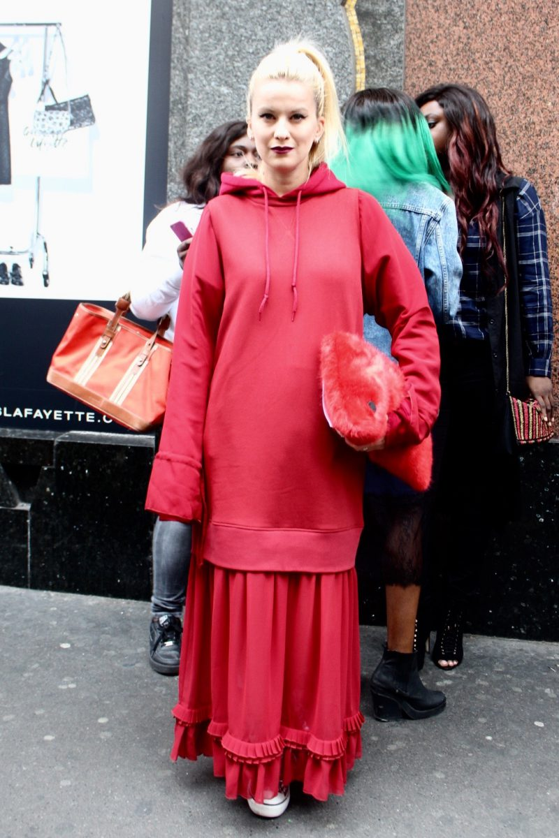 Palina Pralina Streetstyle Fashion Week Paris Haute Couture