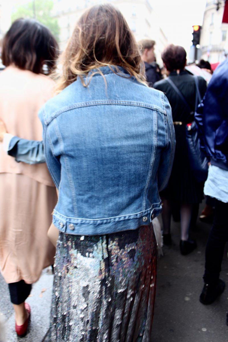 Miroslava Duma Streetstyle Haute Couture Paris 2017