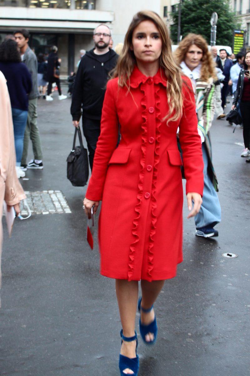 Miroslava Duma Haute Couture Fashion Week Paris 2016