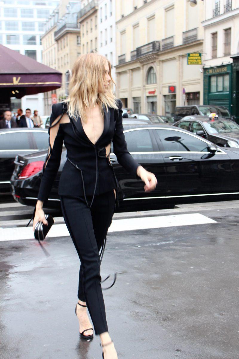 Elena Perminova Haute Coutre Fashion Week Paris 2016 Atelier Versace