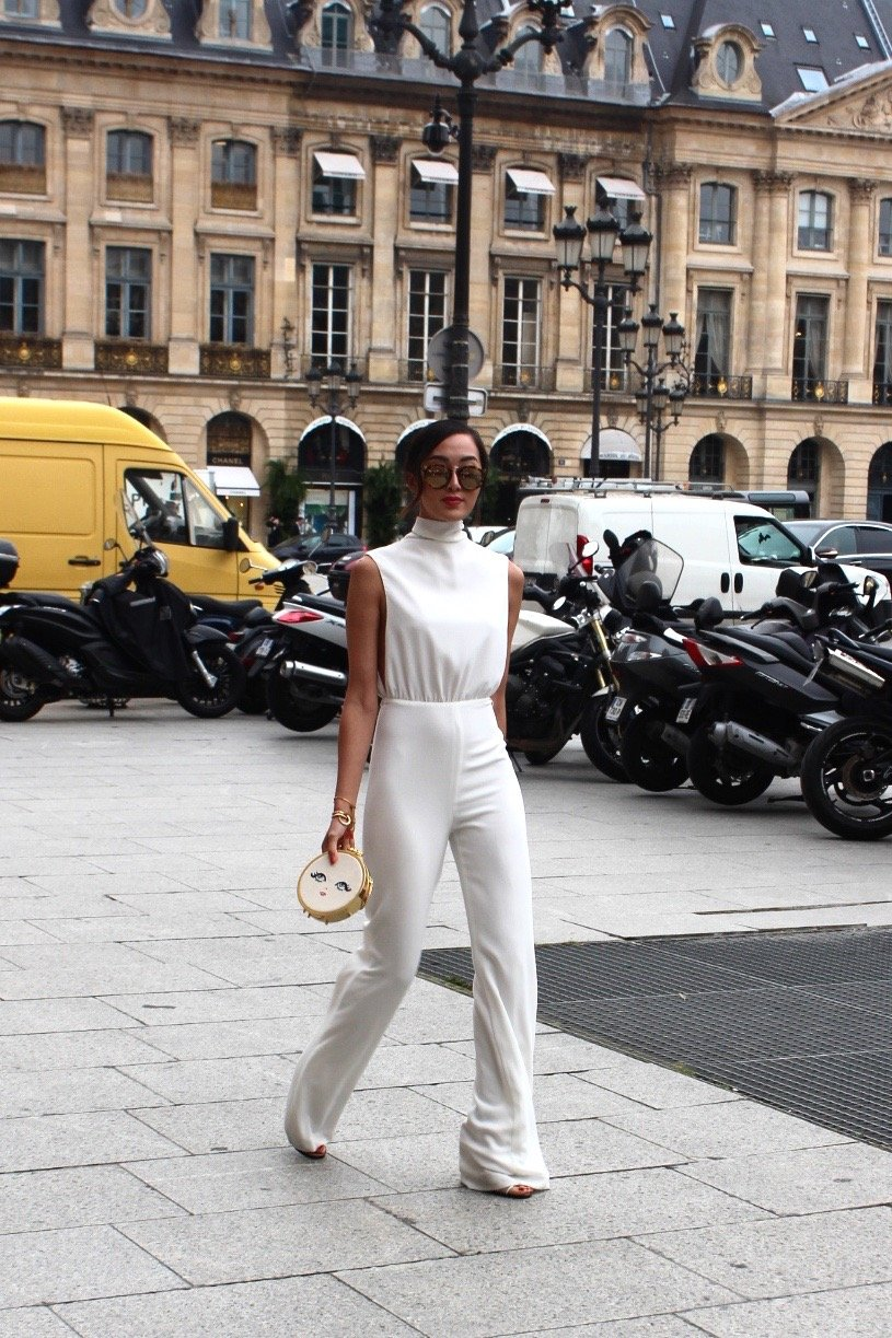 Chriselle Lim Haute Couture Paris fashion week