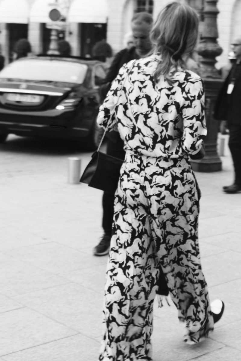 haute couture Streetstyle fashion Week Paris