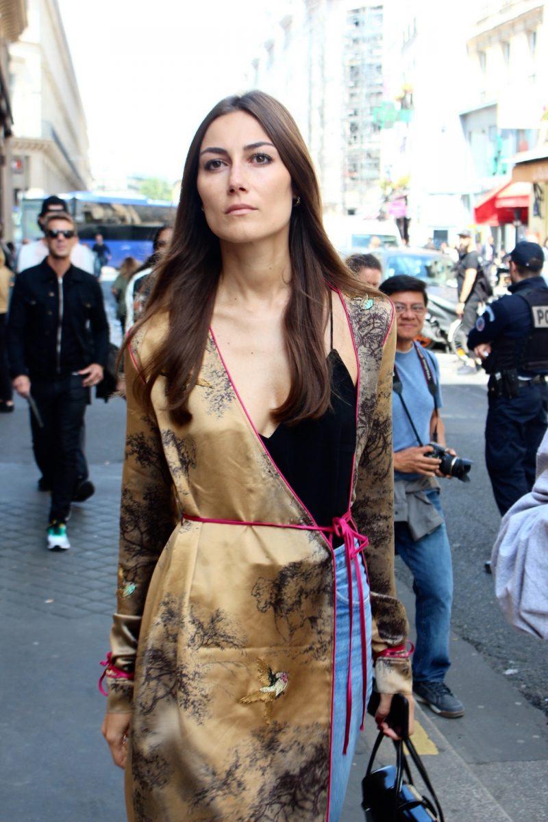 Gilda Ambrosio STreetstyle Haute Couture Paris Fashion Week 2017 in The Attico