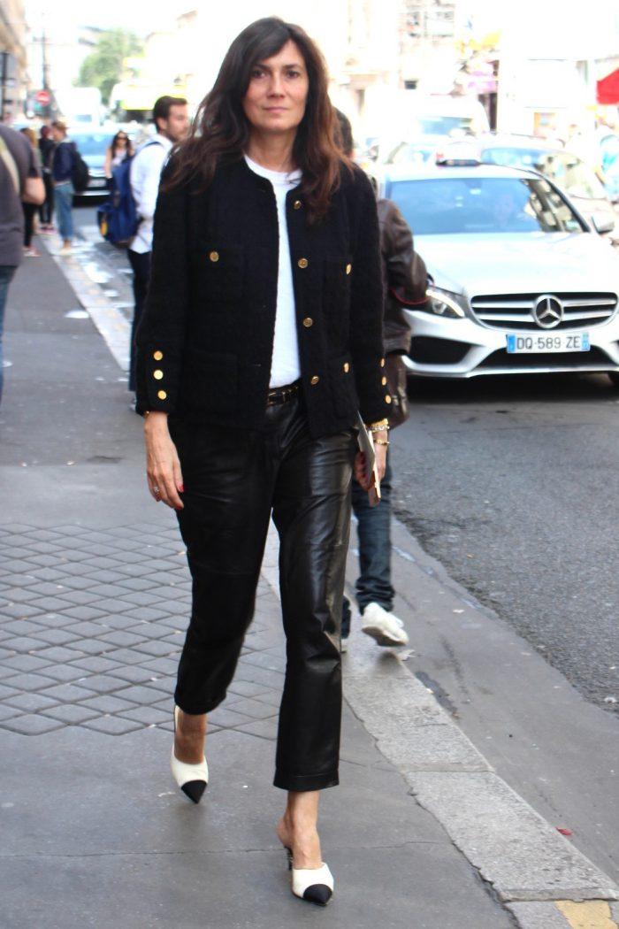 Emanuelle Alt Haute Couture Fashion Week Paris 2016