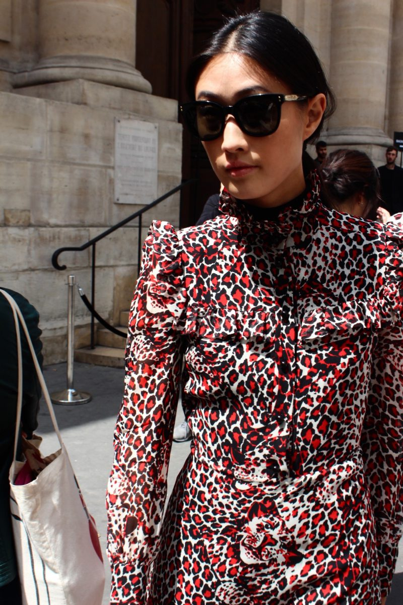 STreetstyle Haute Couture Paris Fashion Week 2017 in The Attico
