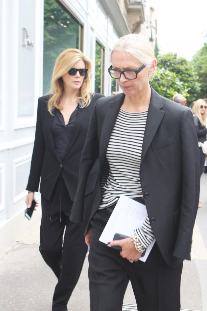 Christine Arp Haute Couture Fashion Week Paris after Dior Runway