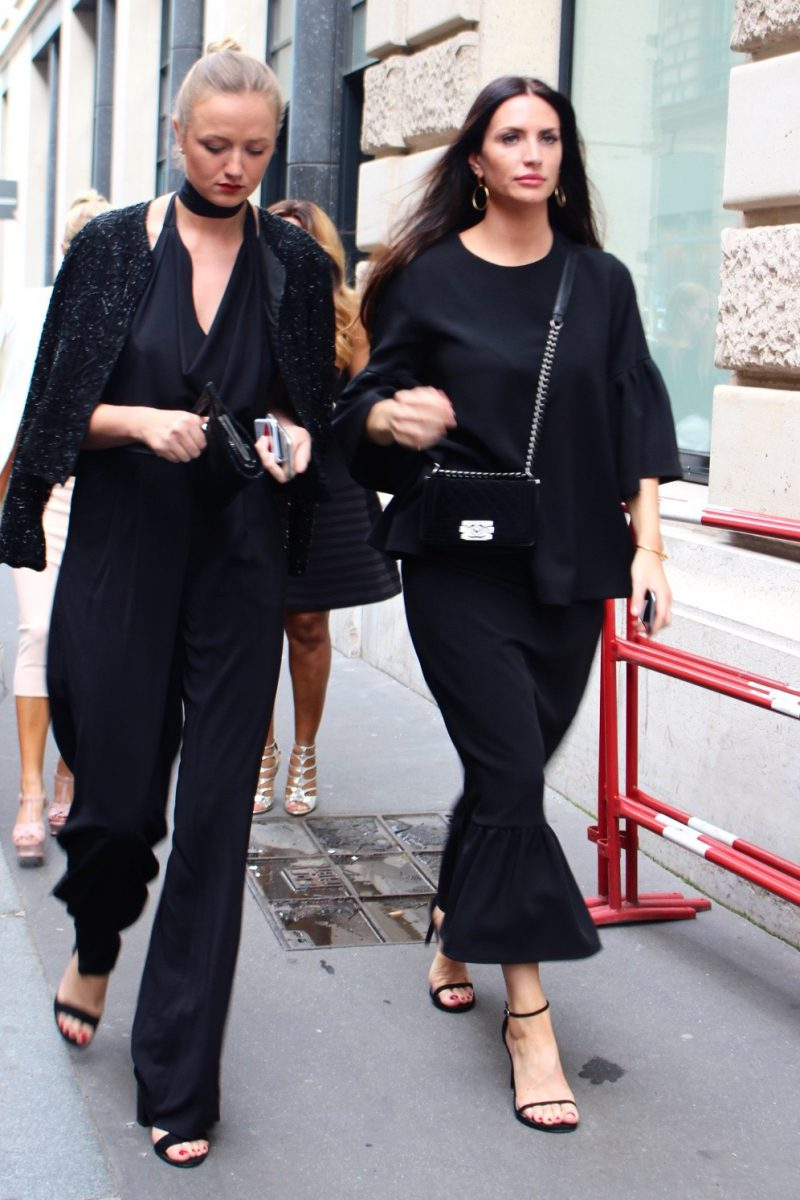 Streetstyle haute Couture Paris 2016 Ralph & Russo