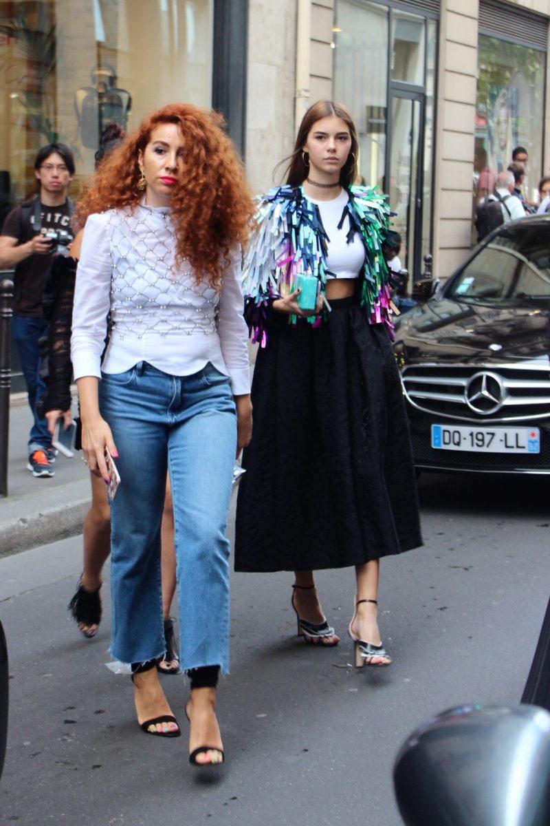 Natasha Zinko Haute Couture Streetstyle Paris sS2017