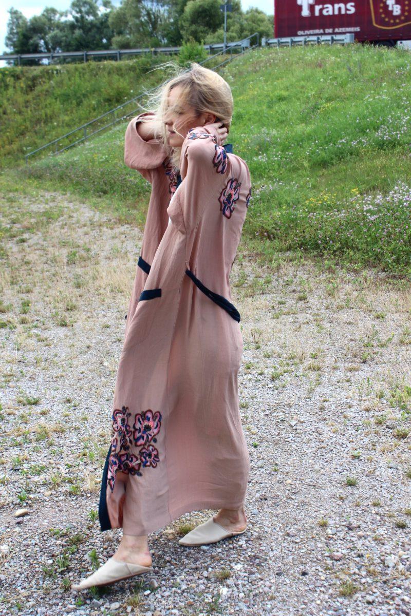 langer Kimono styling Fashionblogger