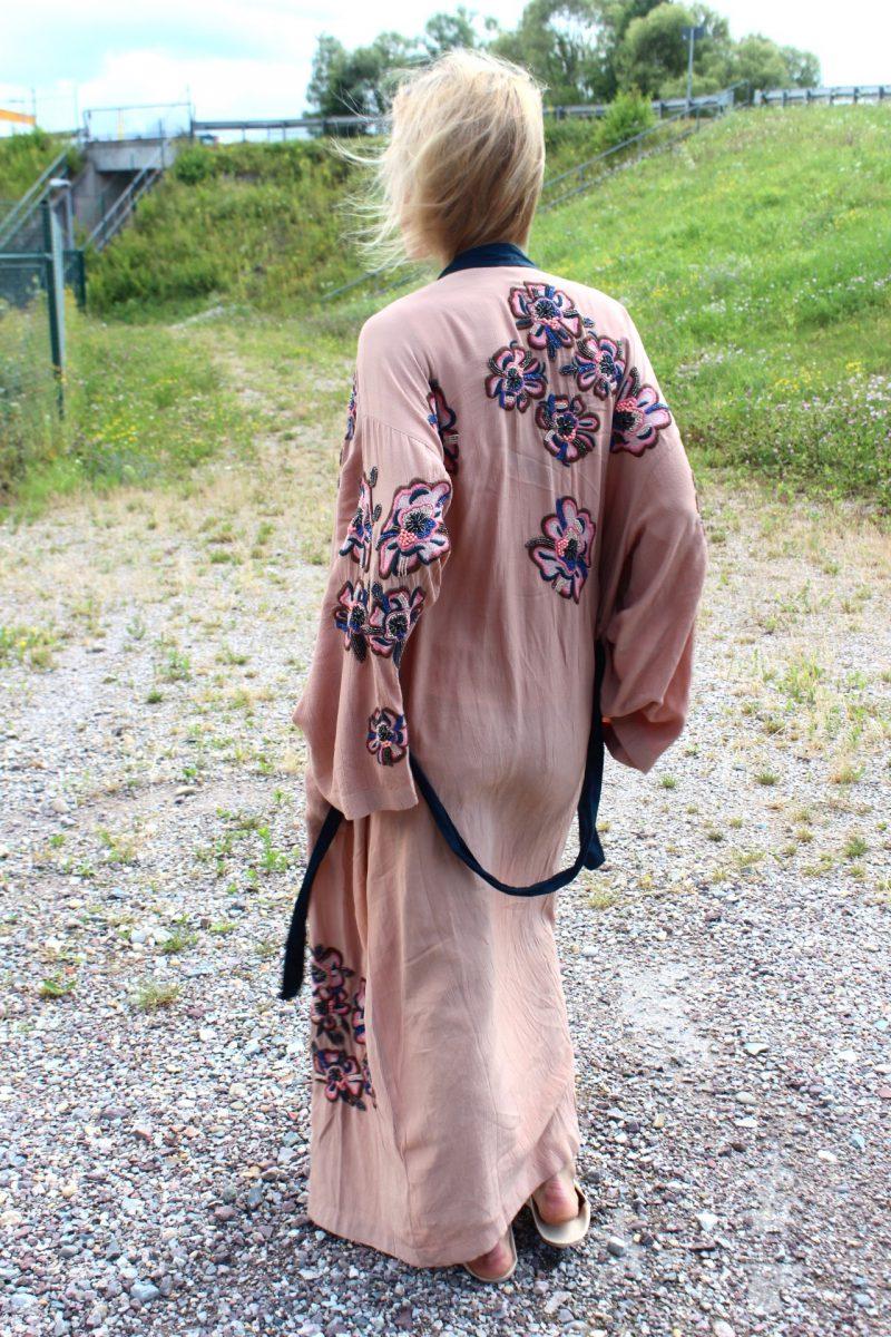 langer Kimono H&M Blogger