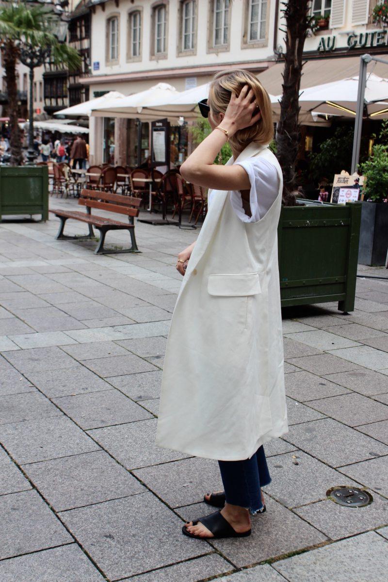 white vest blogger summer look 2016