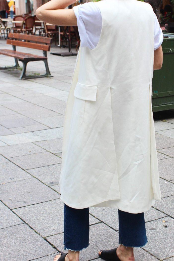white vest H&m