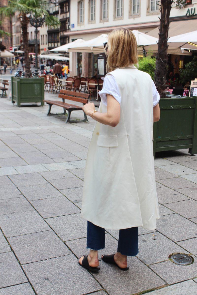 die weiße wete H&M lang