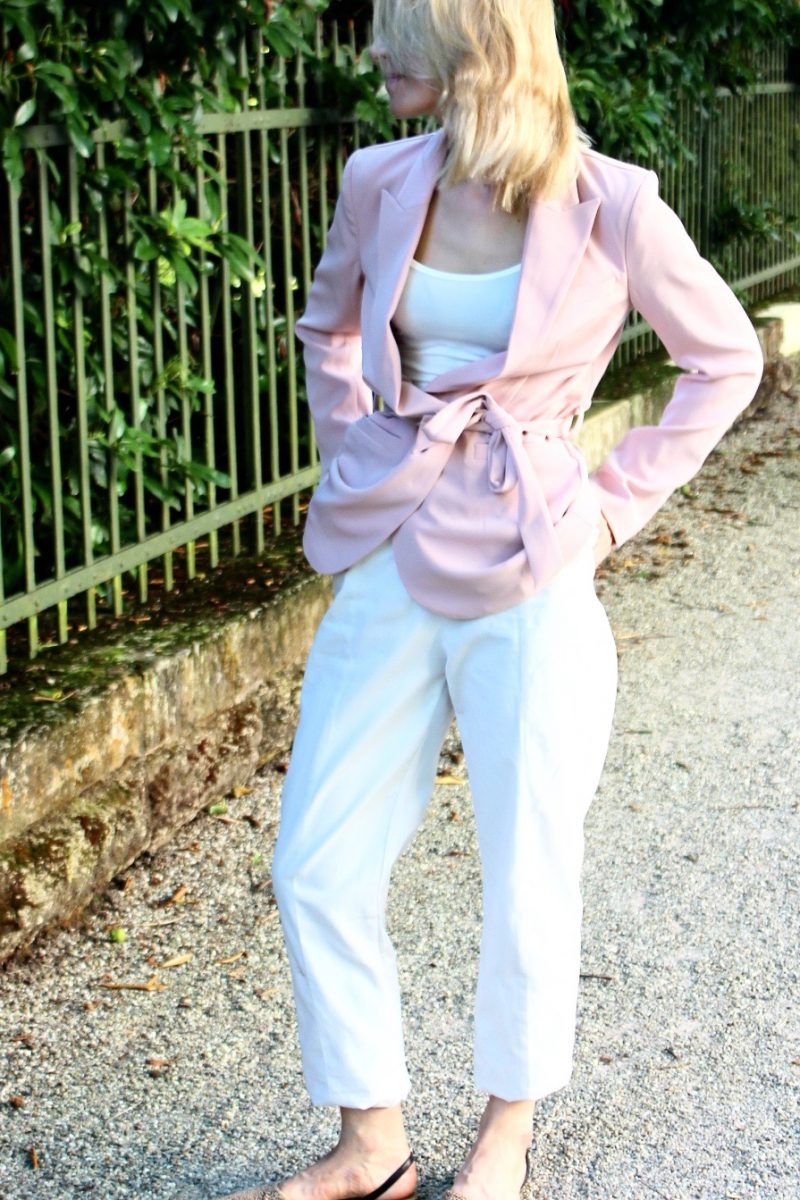weiße Hose H&M trend