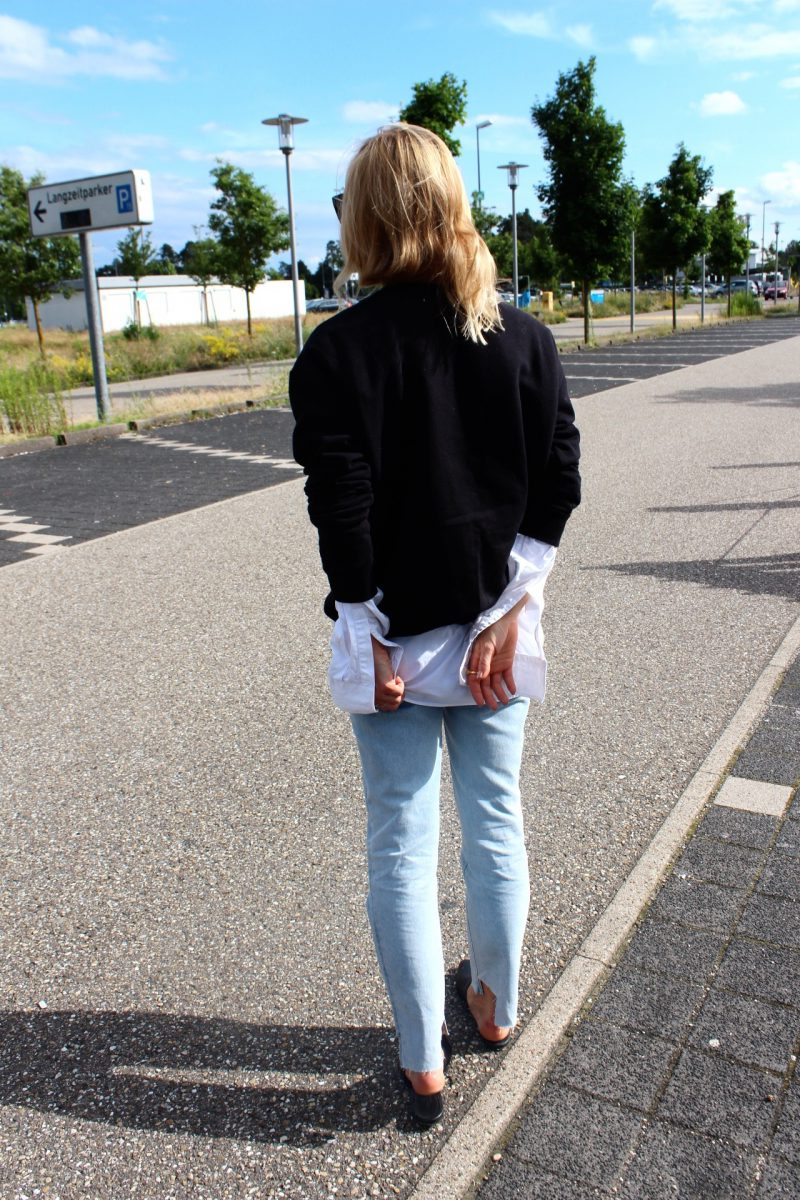 vetements jeans H&M