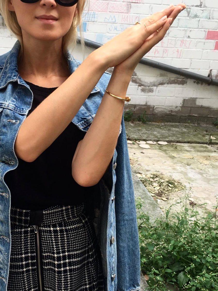 Jeans Jacke Balenciaga