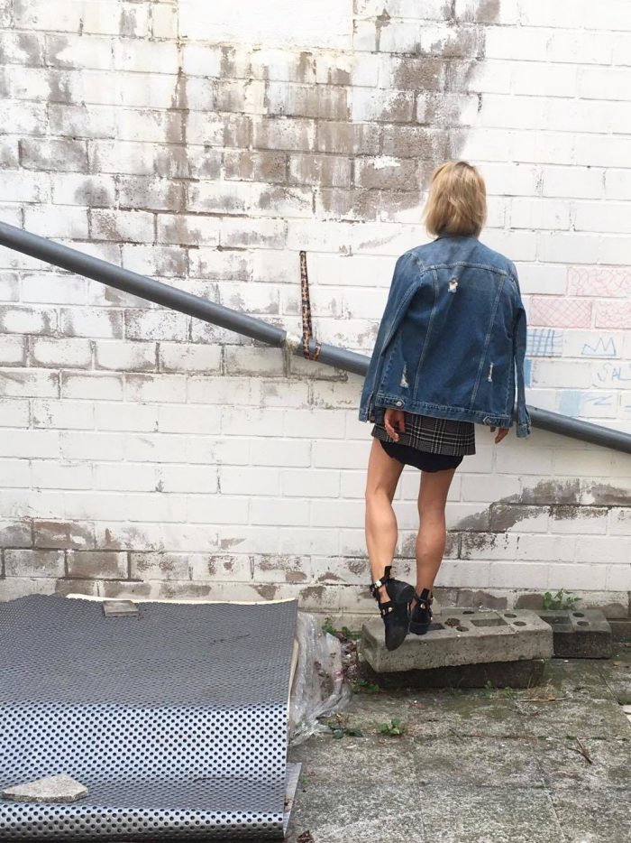 look of the day Jeans Jacke