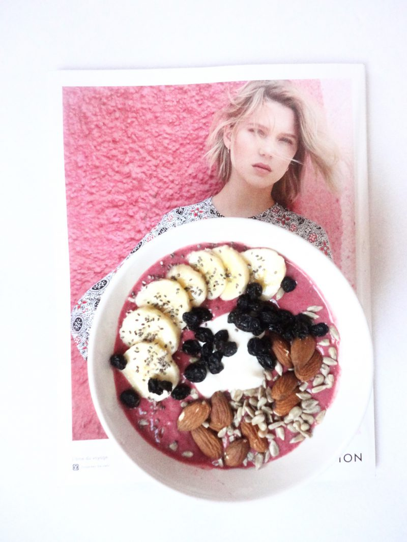 Smoothie Bowl himbeeren