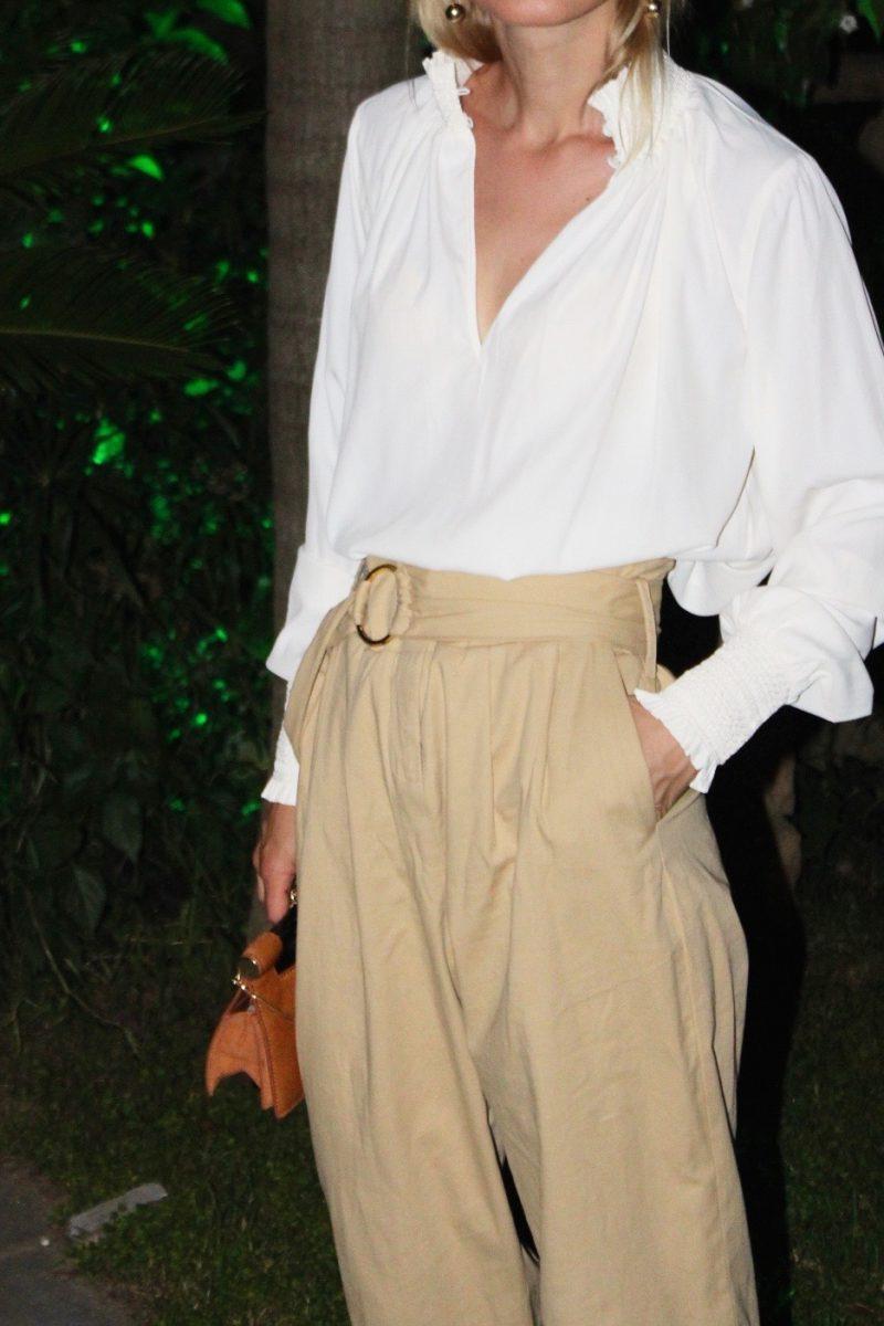 Hose Zara beige
