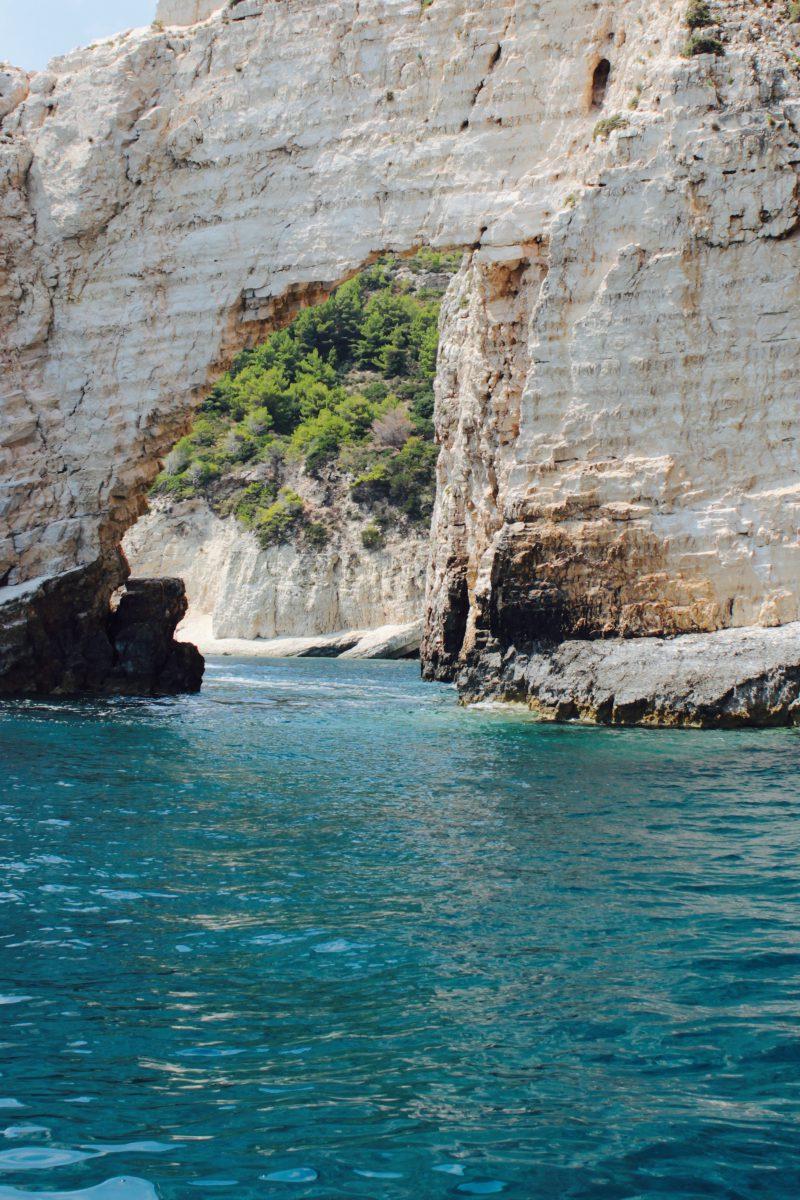 Greece Zakynthos Felsen