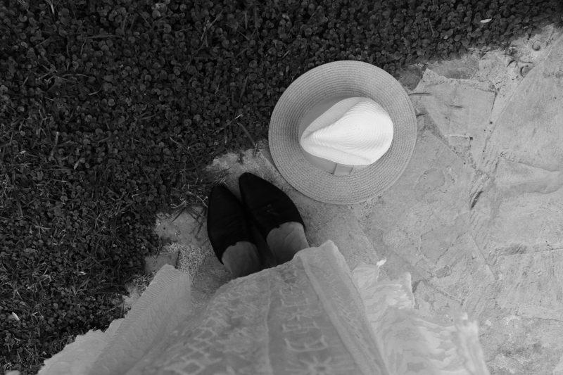 schwarze Babouche Massimo Dutti