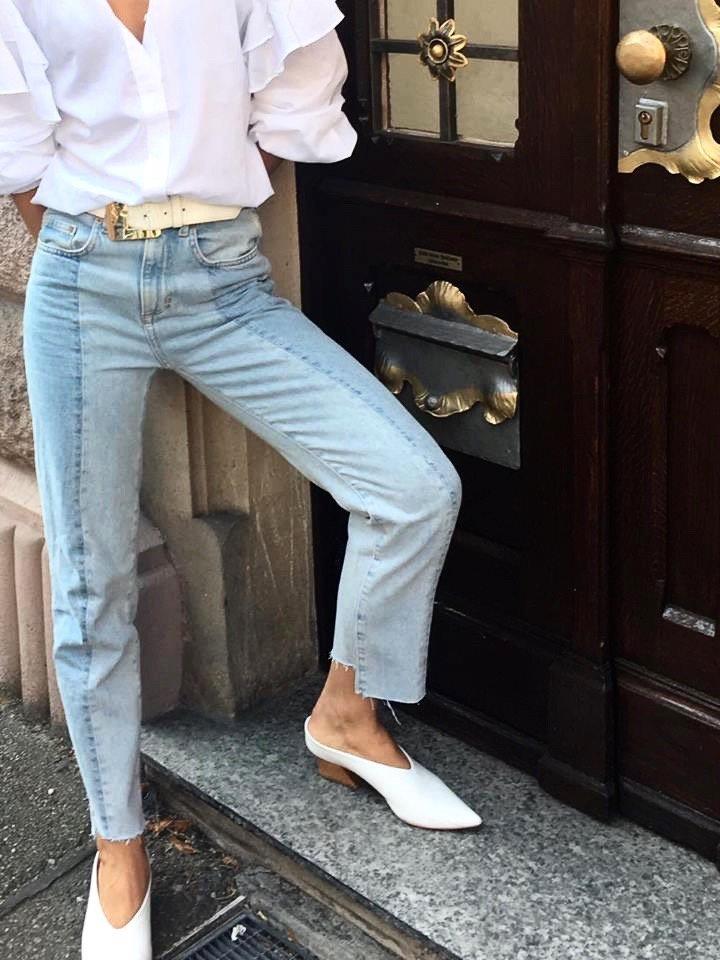 Vetements Jeans blue