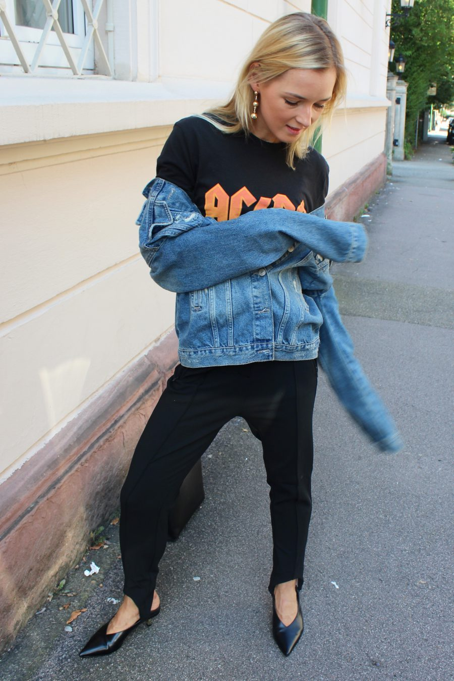 Balenciaga jeans jacke