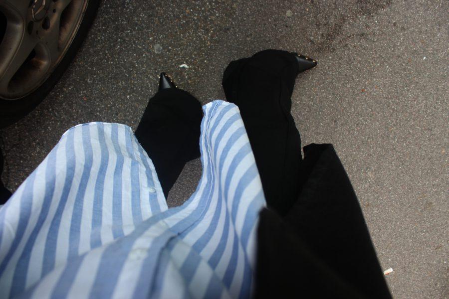 Céline rodeo boots black