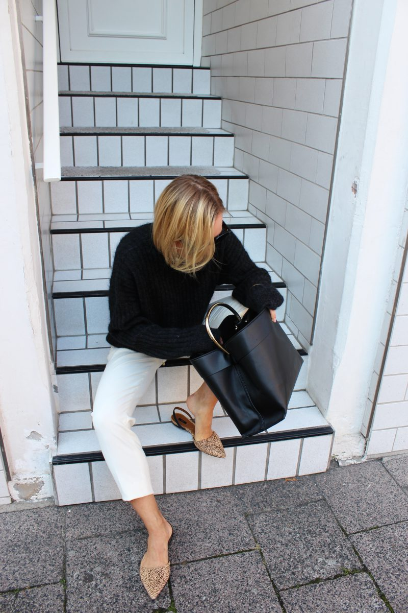 H&M knitwear grey
