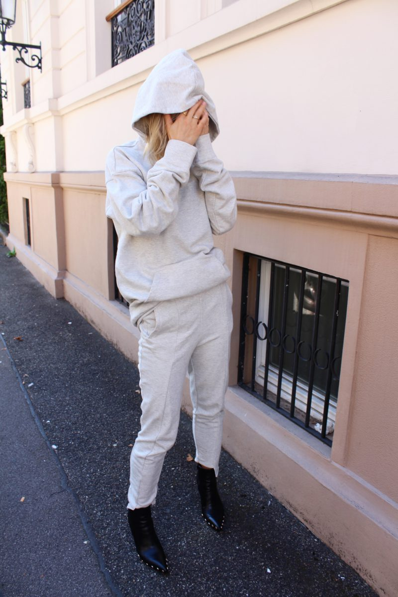 Jogginghose H&M Tracksuit grey