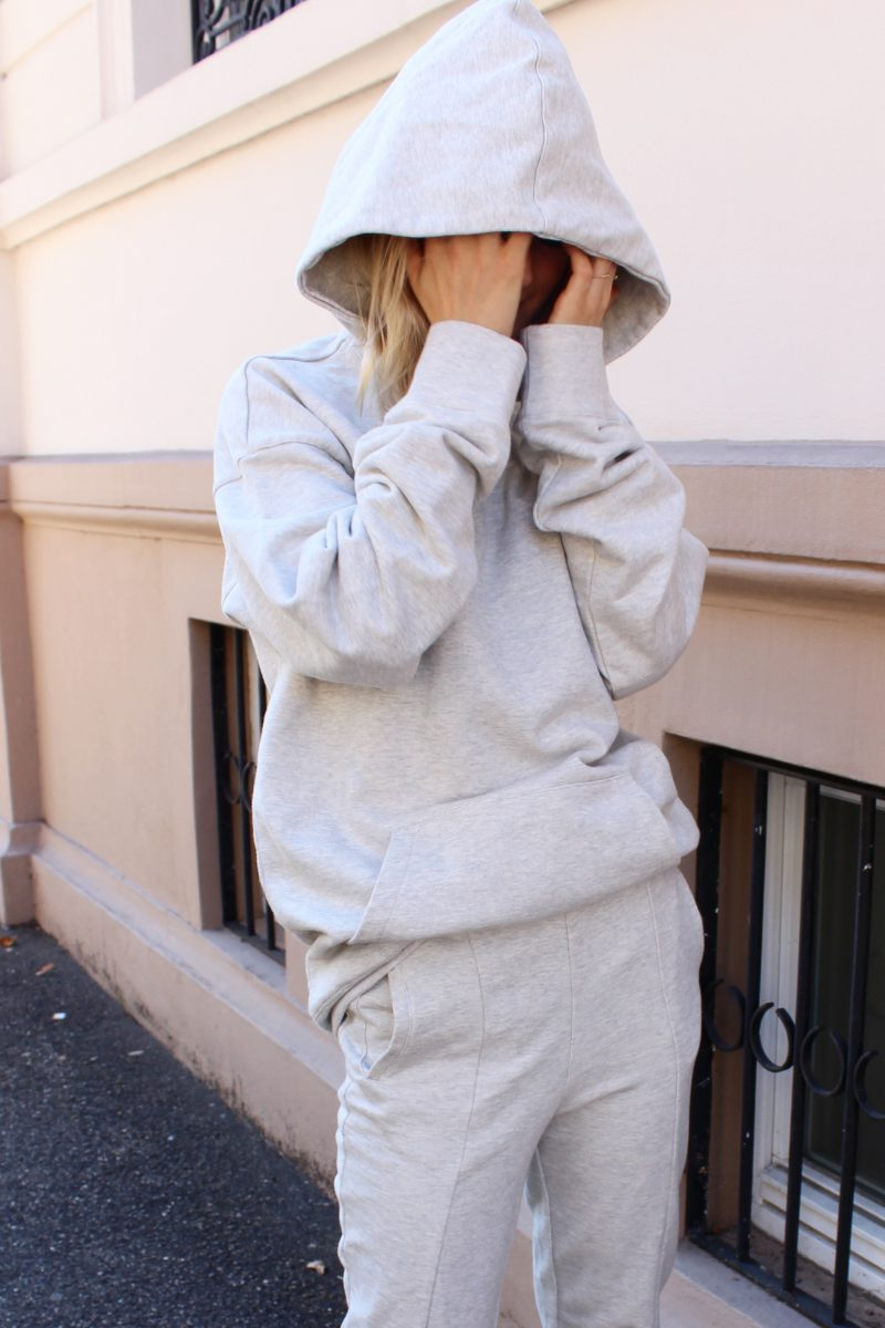 Tracksuit grey H&M trend