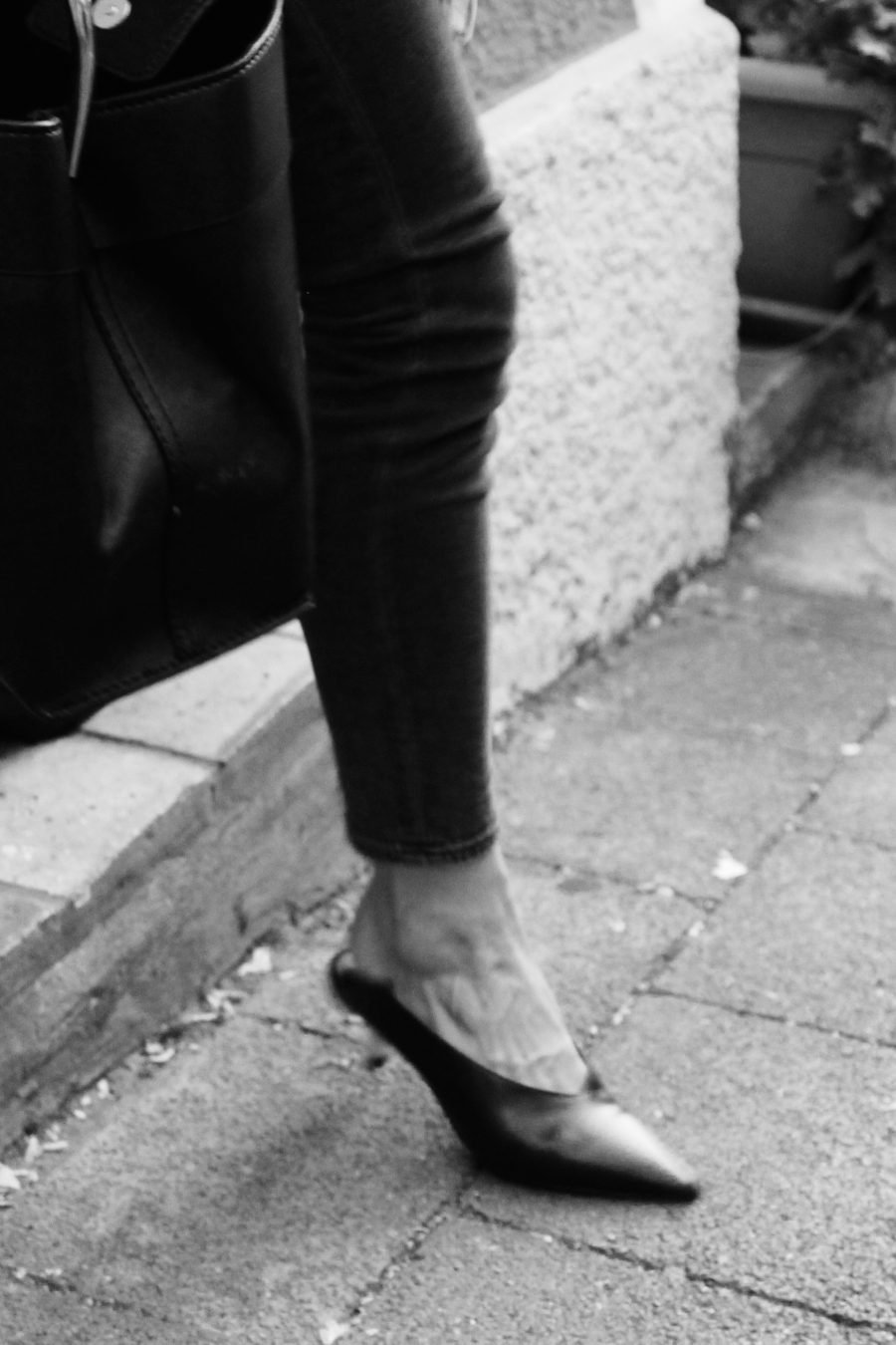 Schuhe Zara schwarz